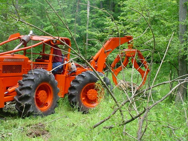 Timberjack Log Skidder